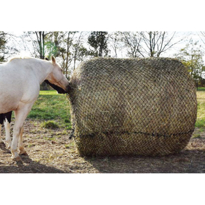 Cheap Price Custom Slow Feed Horse Hay Net Round Bale Net For Sale