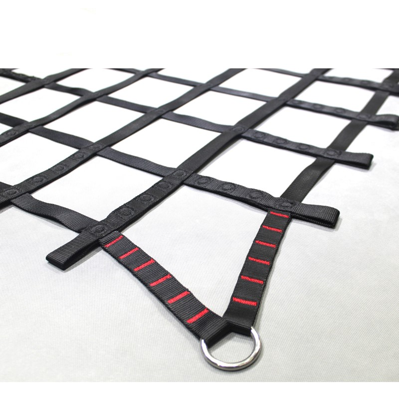 Intop OEM Heavy duty Hot sale safety web polyester UV resistant durable climbing cargo net with cheap price