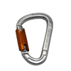 Factory Price Aluminum Carabiner D Type Spring Snap Hook
