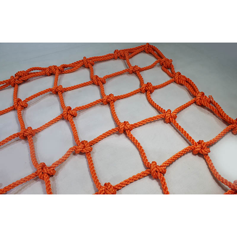 Intop Custom Durable UV Resistant Polyester Knotted Climbing Net for Kids