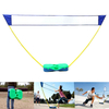 High quality factory price UV resistance foldable badminton net set with rod