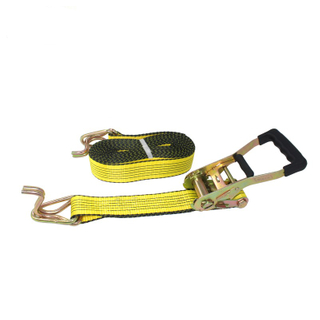Cheap Price Polyester Webbing Ratchet Tie Down Lashing Strap For Whole
